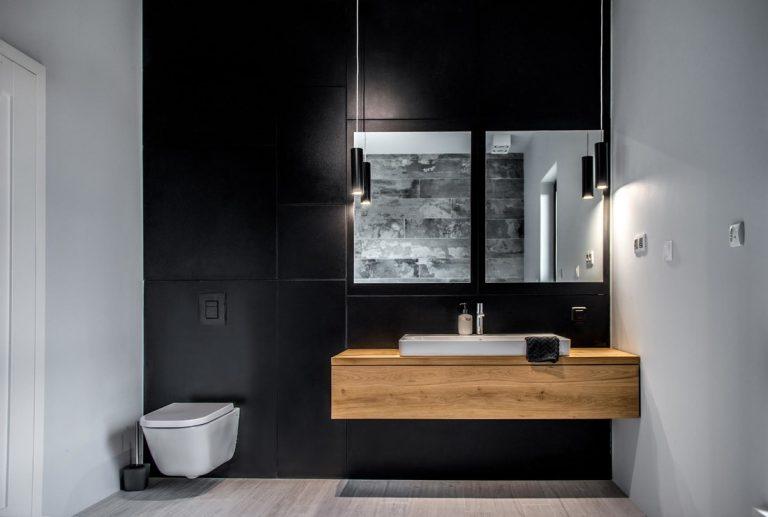 skandináv - minimál fürdőszoba
