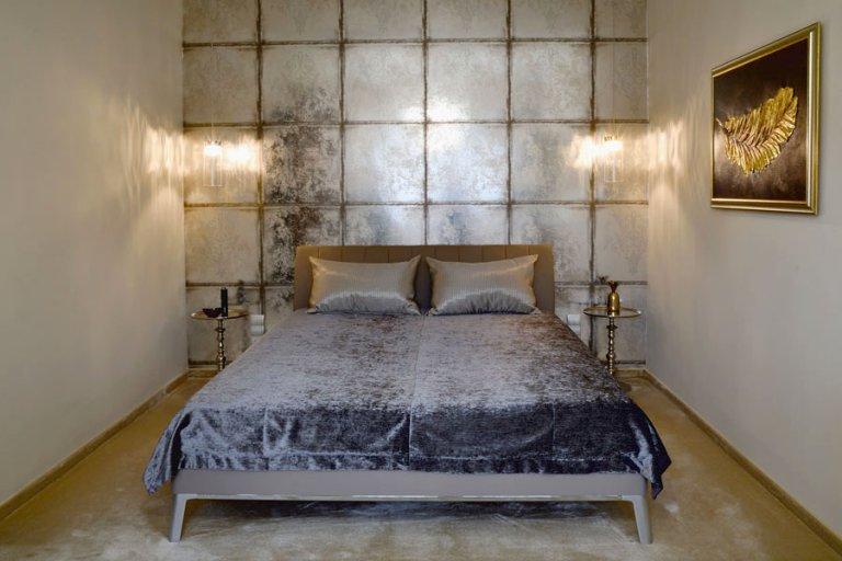 minimál lakás hálószoba