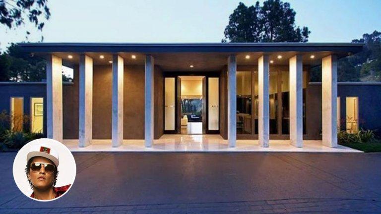 Bruno Mars Los Angelesi otthona