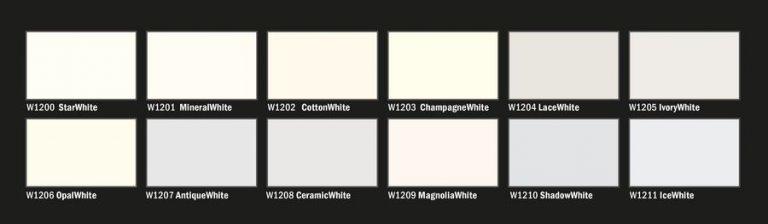 Fehér homlokzat