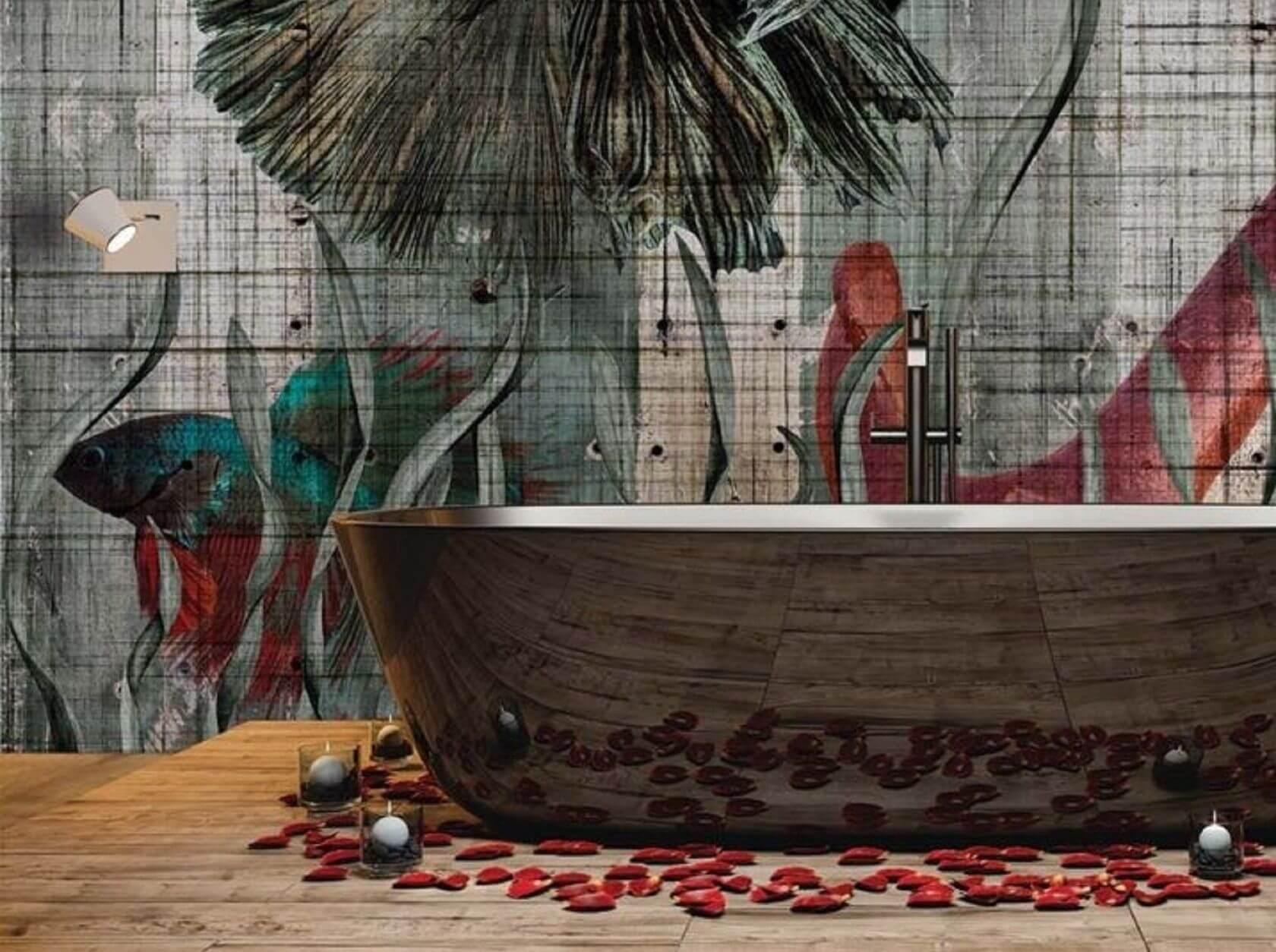 vízálló tapéta fürdőszobába