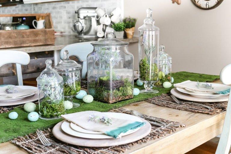 húsvéti asztaldísz ötletek