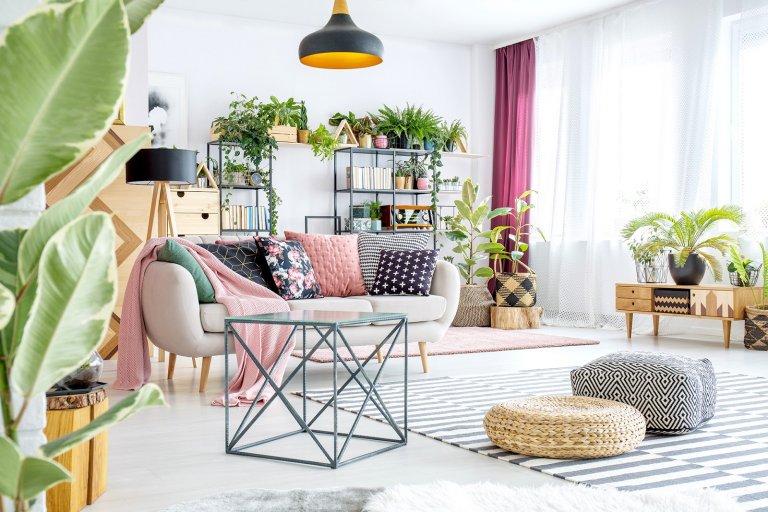 tavaszi megújulás a nappaliban