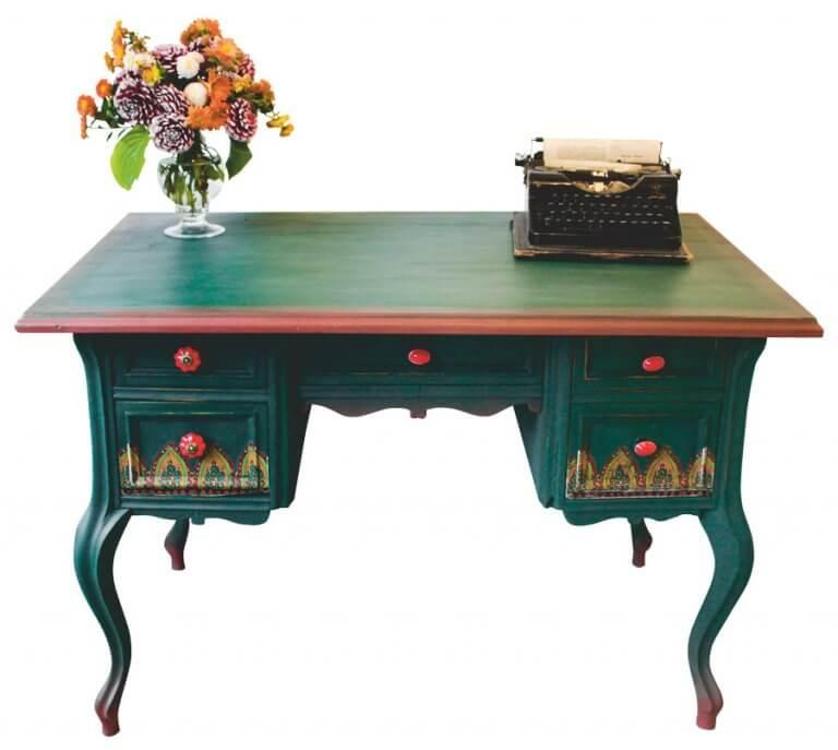 íróasztal felújítása