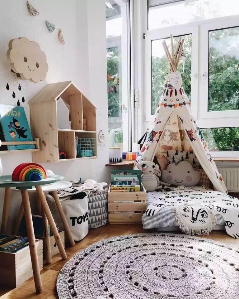 indián sátor gyerekszobába