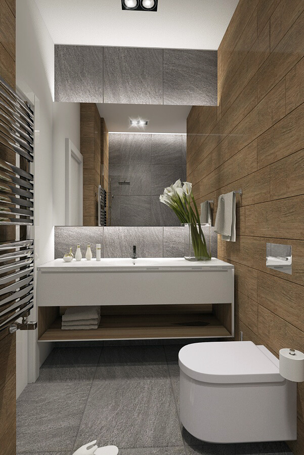 luxus penthouse - fürdőszoba
