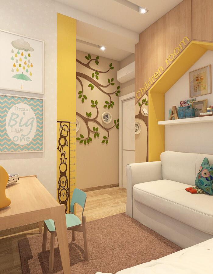 luxus penthouse - gyerekszoba