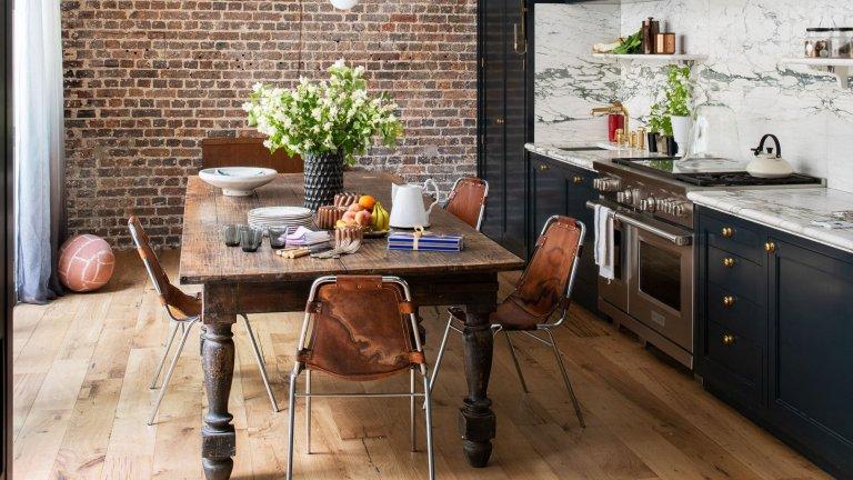 rusztikus és modern konyha
