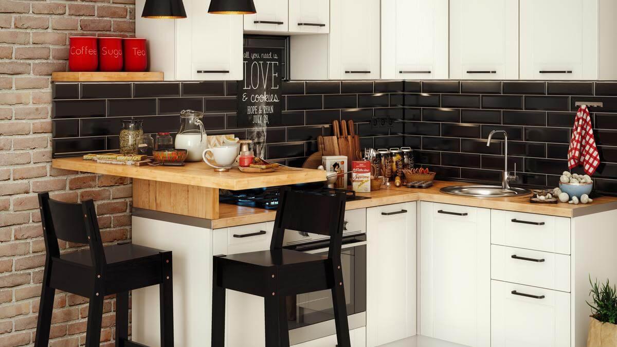 praktikus ötletek kis konyhába
